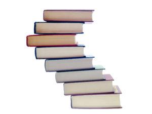 積み上げられた本