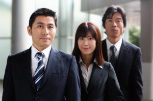 日本のビジネスチーム