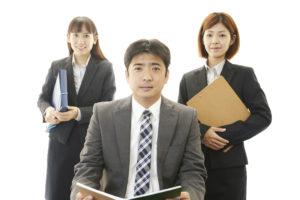 日本のビジネスマンチーム