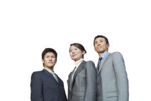 目標に向かうビジネスチーム