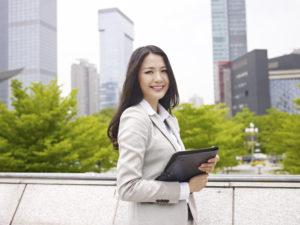 女性のビジネスマン